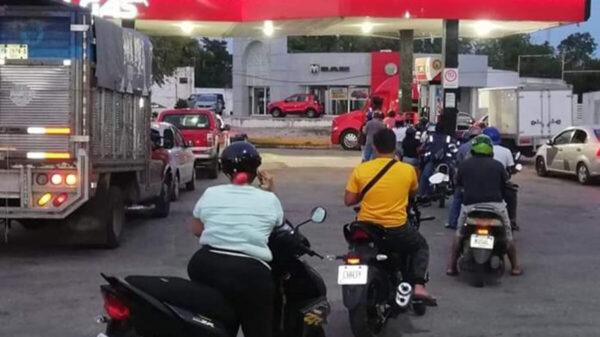 ¡Alerta! Vecinos de Valladolid reportan desabasto de gasolina