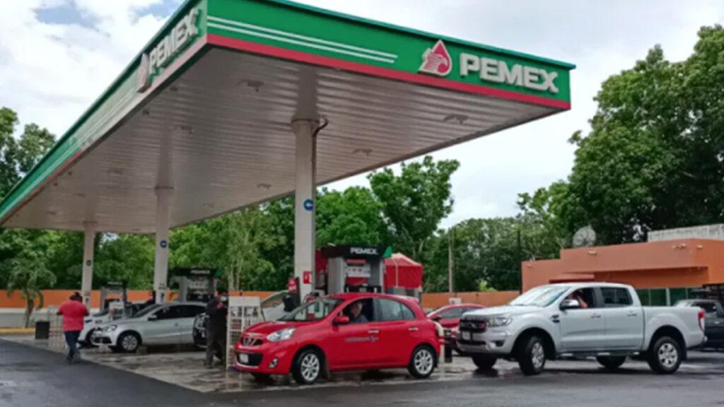 Caos por desabasto de gasolina en la zona sur de Quintana Roo