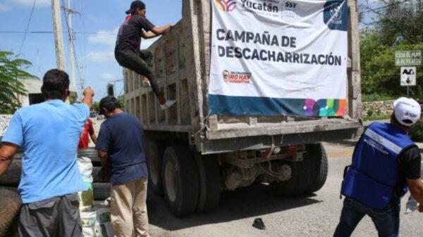 Se aproxima la campaña de descacharrización en Mérida, aquí las fechas