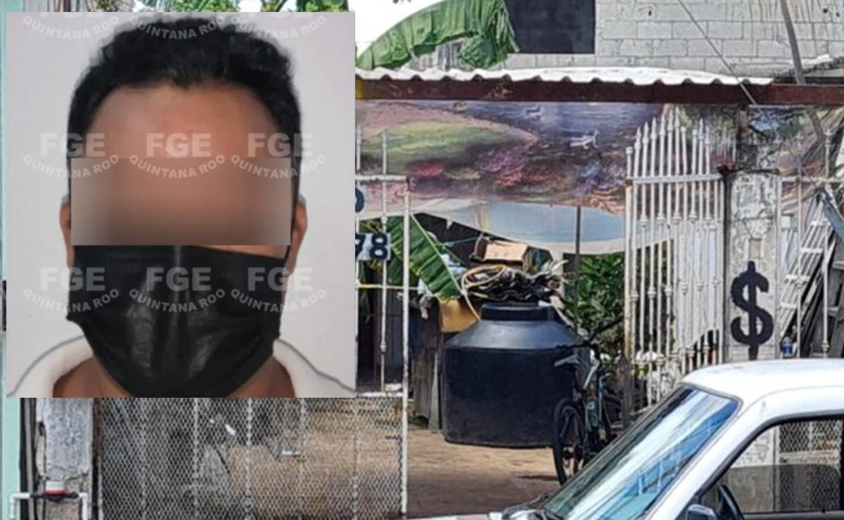 Cae presunto asesino de enfermo de VIH torturado en herrería de Cancún
