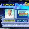 El candidato de Morena a la gubernatura de Sonora Alfonso Durazo, registra un avance significativo que lo llevaría a colgarse el triunfo