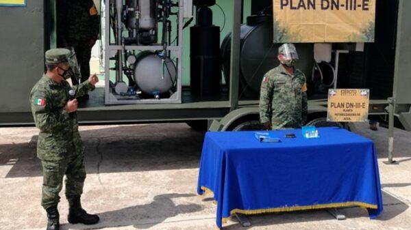 Yucatán: Ante la temporada de huracanes, Ejercito Mexicano se declara listo