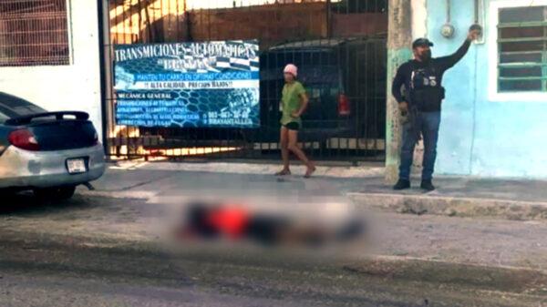 Chetumal: Acribillado a balazos, ejecutan a motociclista