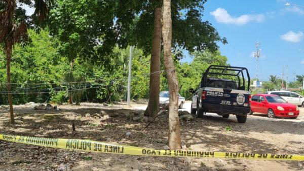 Cancún: Vecinos encuentran presunto ejecutado en Paraíso Maya