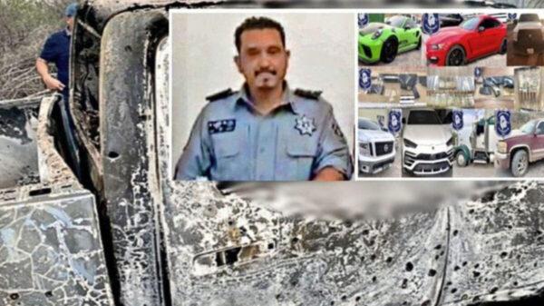 Ejecutan y calcinan a comandante de la policía de Chihuahua
