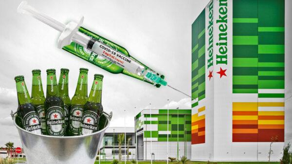 Cubetazos de vacunas covid?, Heineken vacunará contra el virus