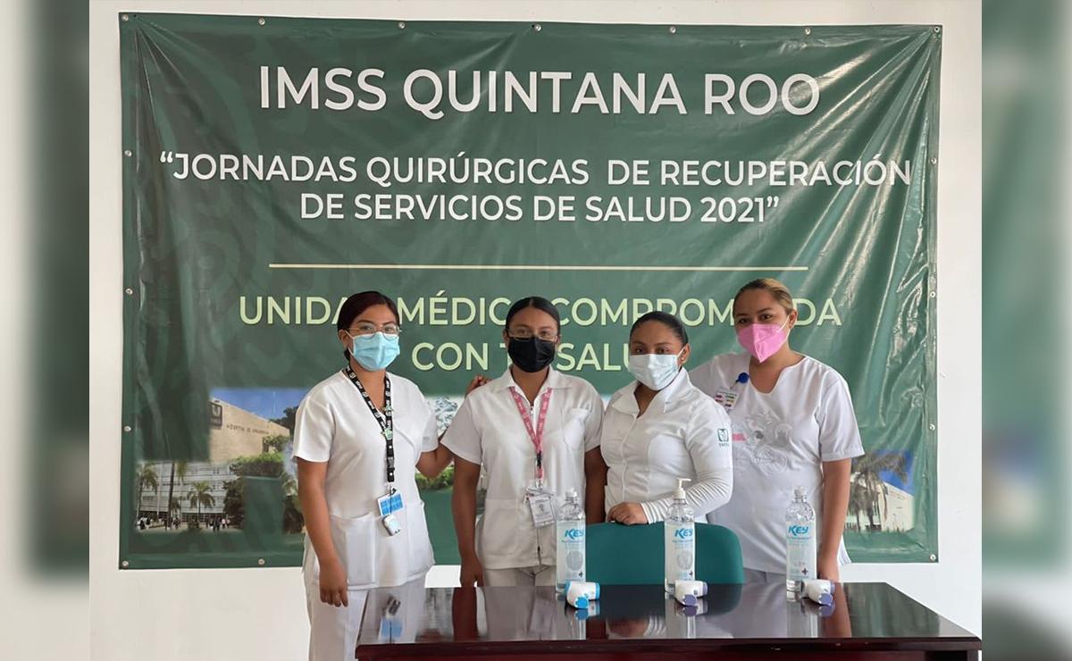 Implementa IMSS jornadas de atención preventiva en Quintana Roo