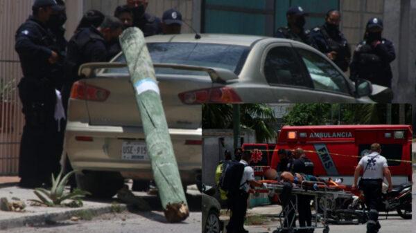 Vengador ciudadano arrolla a ladrones tras asalto a comercio