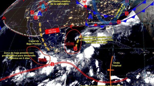 Clima: Lluvias torrenciales para hoy en Quintana Roo.