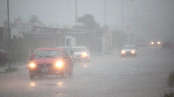 Llegan fuertes lluvias a Yucatán que permanecerán hasta el miércoles ¡No bajes la guardia!