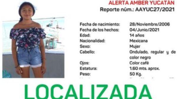 Menor de 14 años extraviada en Tizimín, es encontrada en Quintana Roo