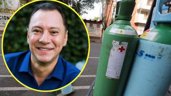 Mariano Osorio regala oxígeno medicinal para enfermos de Covid-19