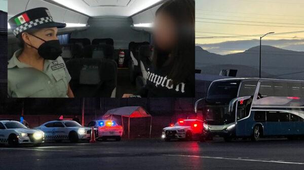 Rescata Guardia Nacional a niña que escaparía con un adulto a CDMX