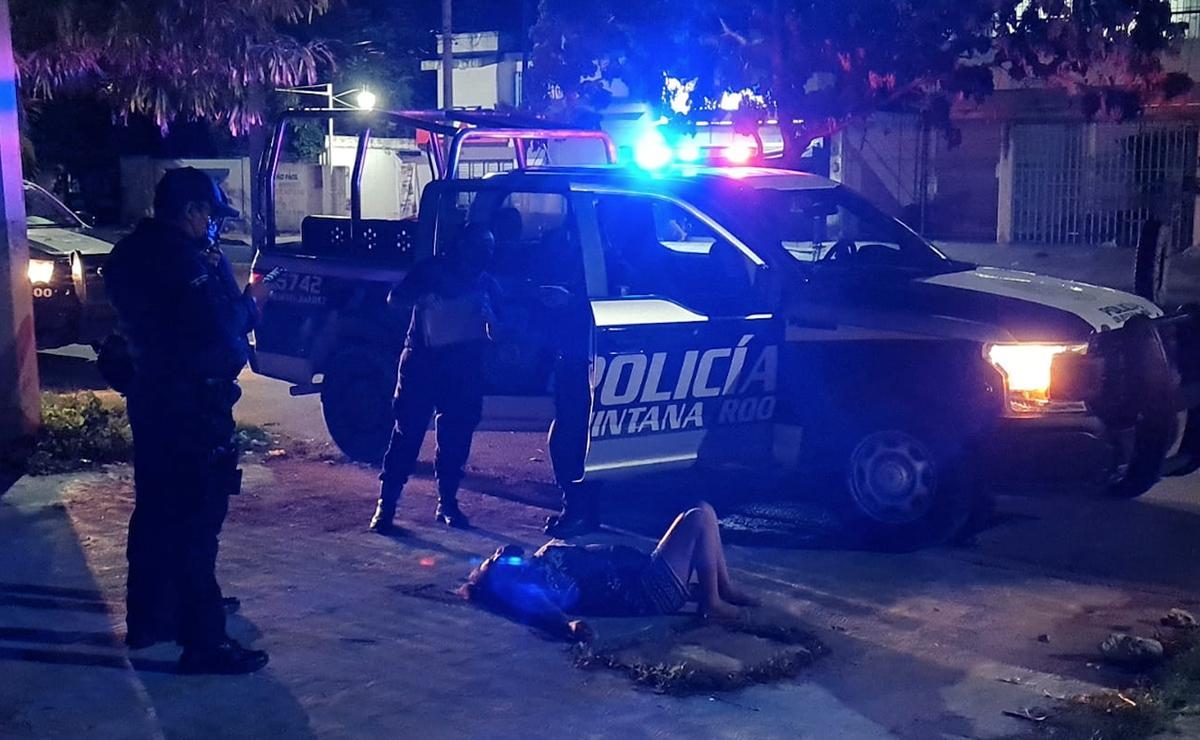 Reportan a mujer tirada en una avenida de la región 232 de Cancún