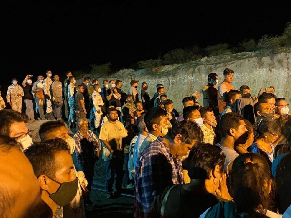 Rescatan séptimo y último cuerpo de mineros atrapados en Coahuila
