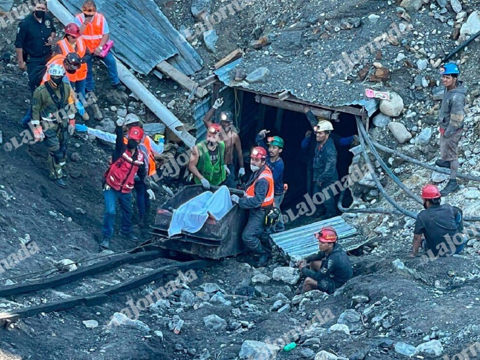 Durante el colapso de la mina de Micarán quedaron atrapados siete mineros, todos fueron hallados sin vida.