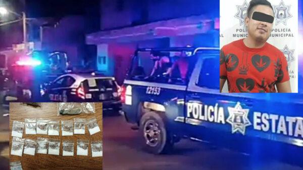 Caen dos narcomenudistas en cierre de fiesta clandestina en Cozumel