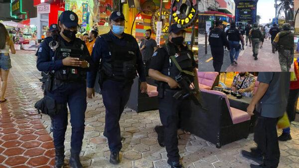 Por violencia blindan autoridades zona hotelera de Cancún