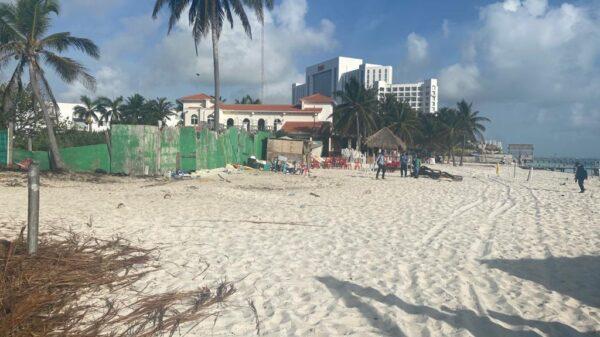 Agradece CCEC operativo en Playa Tortugas, Cancún