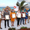 Cancún líder en playas platino en México