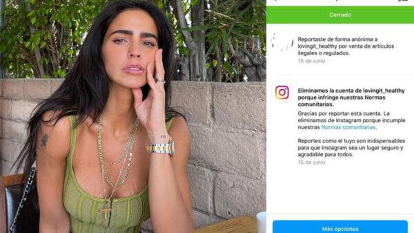 """Proteína """"Loving It"""" de Bárbara de Regil se queda sin cuenta de Instagram"""