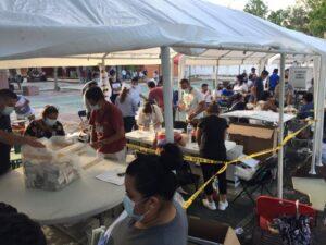 Llegan tarde a votar; ya se cerraron las casillas en Puerto Morelos