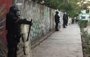 Realizan patrullaje los policías por traslado de boletas en Puerto Morelos