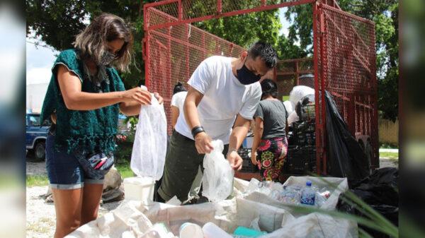 Fortalece gobierno de Puerto Morelos cultura del reciclaje