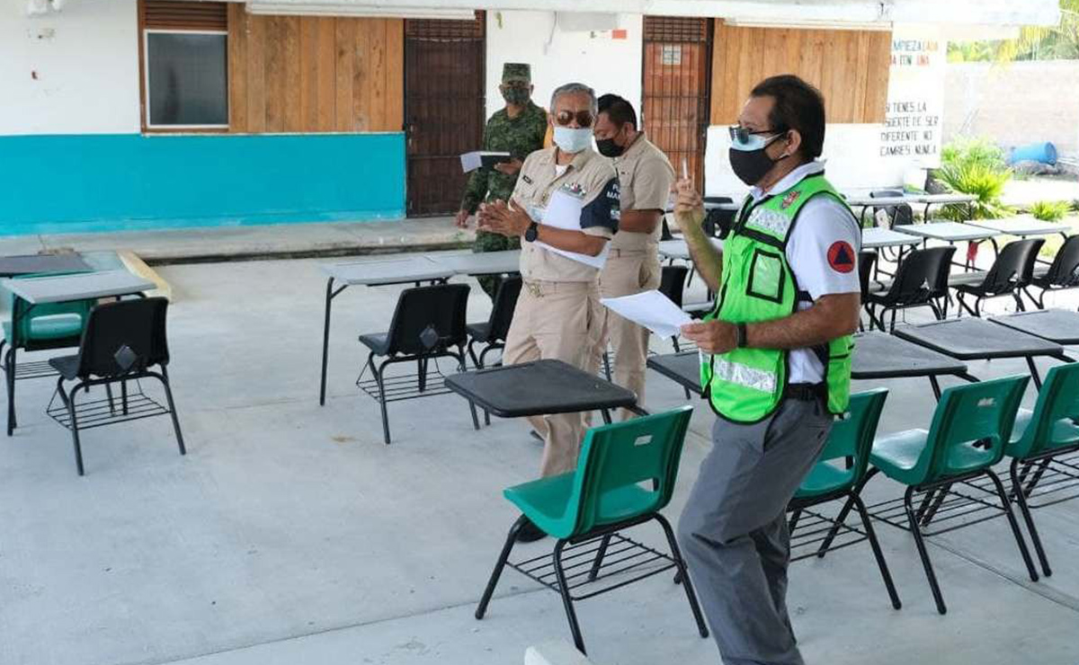 Puerto Morelos enfrentará temporada de huracanes 2021 con 24 refugios