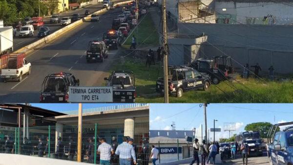 Enfrentamiento en reclusorio de Tabasco deja 6 muertos y 9 lesionados