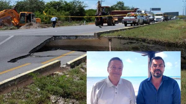 Obras del socavón terminaran a mas tardar en noviembre: Luis Alegre