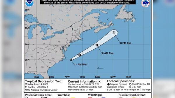 Nace la segunda depresión tropical de la temporada