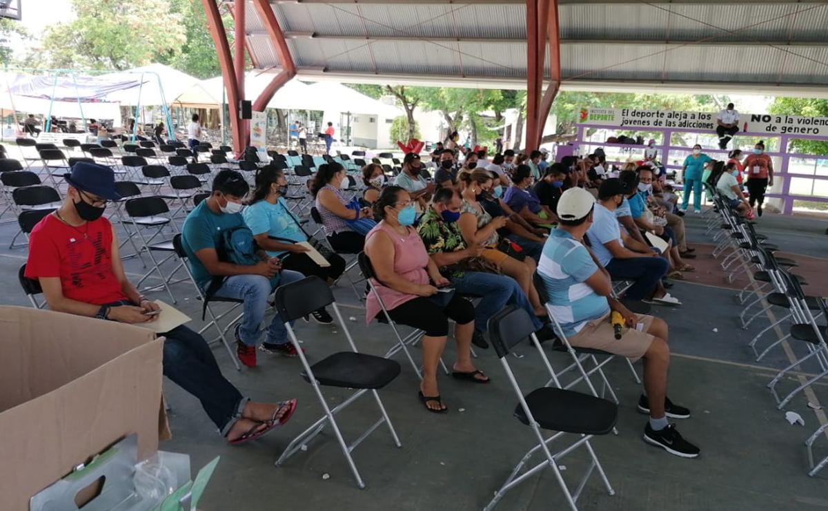 Jornada de vacunación anticovid en Cancun no logra convocatoria