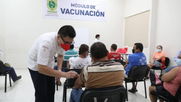 Este martes, personas de 50 a 59 años de Mérida recibirán 2da dosis contra el covid