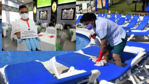 Celebran hoteleros de Quintana Roo vacunación covid-19 a sector turístico