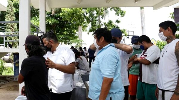Aplican vacunas contra el Covid a todos los internos del Cereso Yucatán
