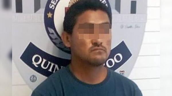 Asegura policía a presunto violador de niña de 9 años
