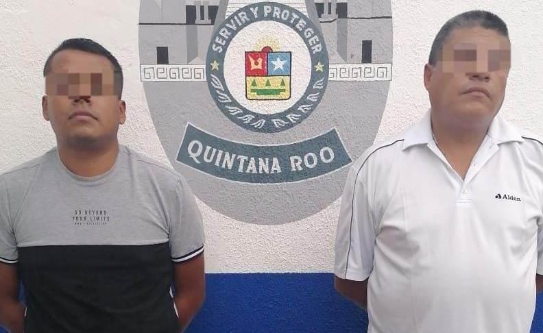Caen dos pistoleros en la zona costera de Tulum.