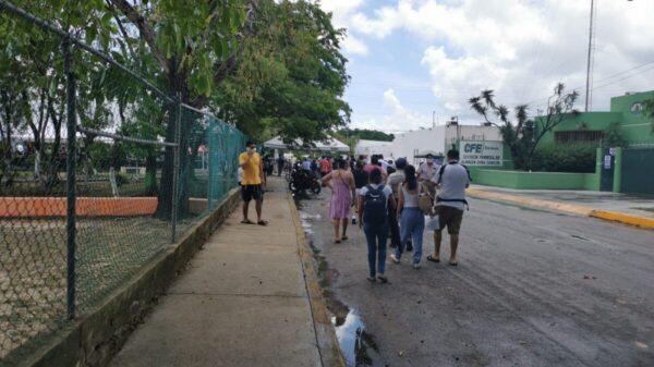 Casi 16 mil vacunas se aplicaron en jornada de vacunación en Cancún.