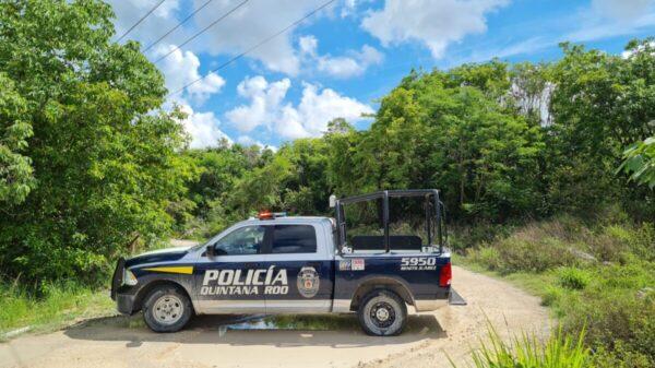 Cancún: Localizan un cuerpo encintado por el rumbo de Alejandría.