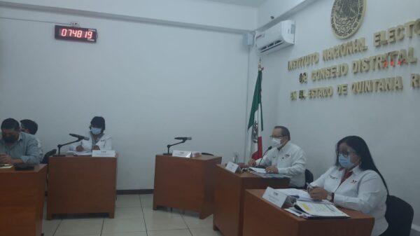 Se instala la Sesión Permanente para la jornada electoral.