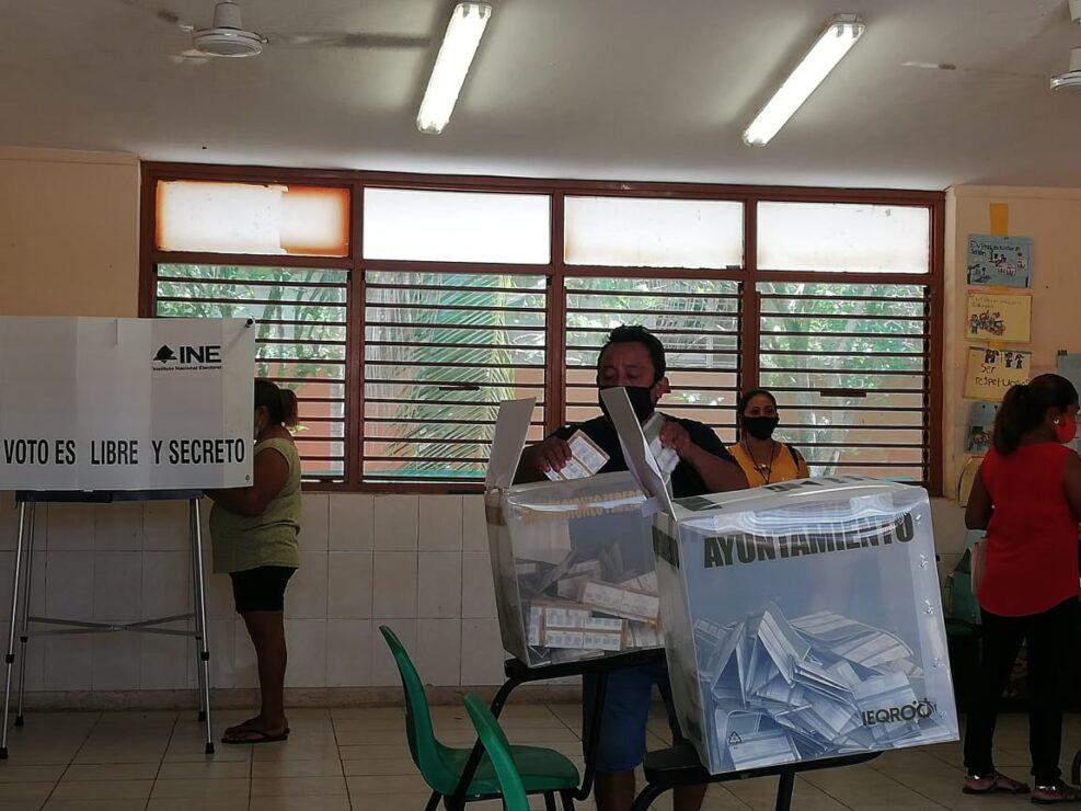 Kantunilkín: Tres casillas fueron selecccionadas para el recuento de votos.