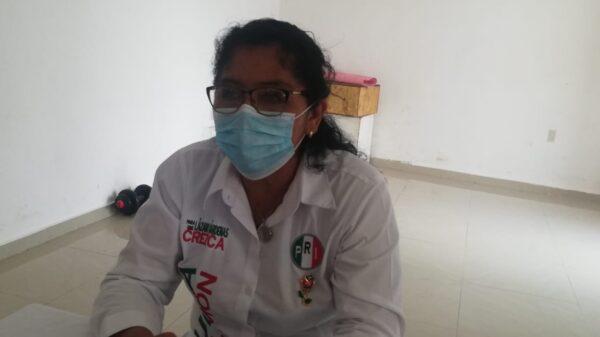 Lamenta candidata del PRI que la gente no haya salido a votar en Lázaro Cárdenas.
