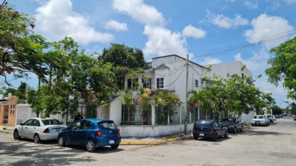 Disparan contra una vivienda en la Supermanzana 504 de Cancún (VIDEO).