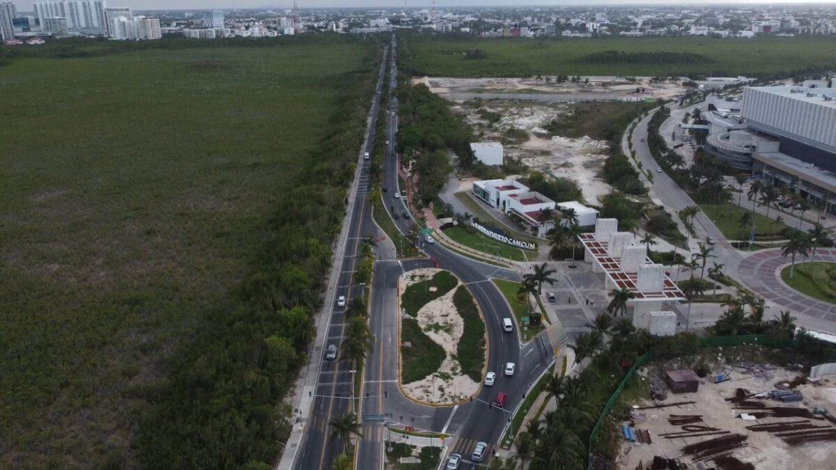 Anuncia Fonatur que iniciará la repavimentación del Bulevar Kukulcán; se contempla rehabilitar 12.7 kilómetros en la Zona Hotelera de Cancún.