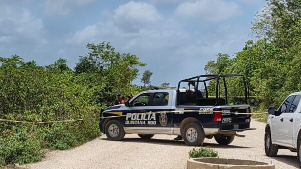 Cancún: Localizan el cuerpo de un ejecutado en Prado Norte.