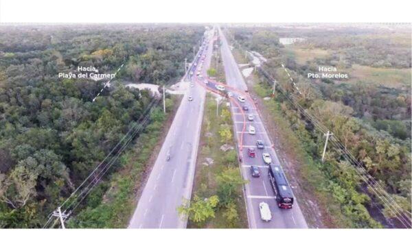 Fonatur plantea solución para la Carretera Federal 307.