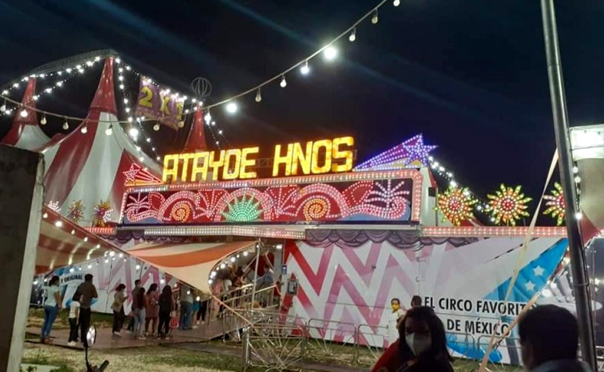 Tizimín: Operativo de migración en Circo Atayde deja tres extranjeros asegurados