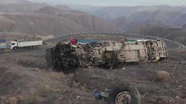 Terrible accidente de autobús deja al menos 27 muertos