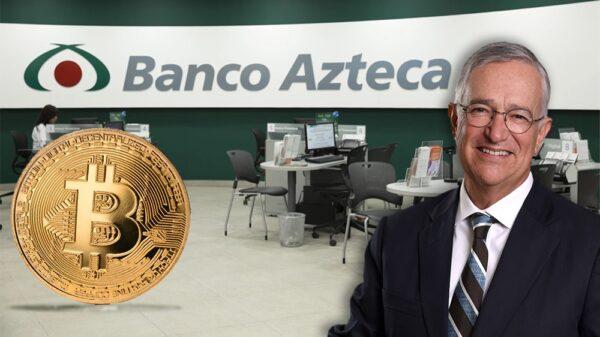 Banco Azteca buscar ser el primero adoptar el bitcoin en México.